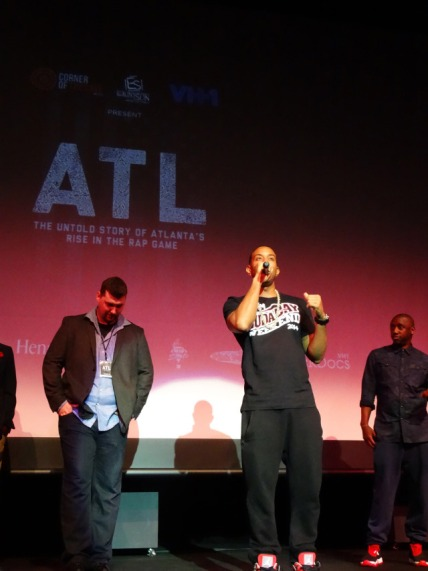 Ludacris on stage