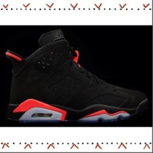 """Air Jordan 6 """"Black/Infrared"""""""